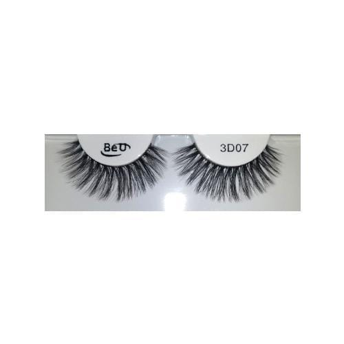 BE U | 3D Faux Mink Eyelashes 3D07 - Hair to beauty
