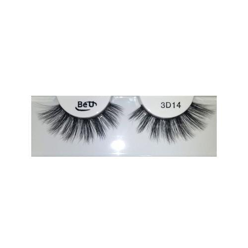 BE U | 3D Faux Mink Eyelashes 3D14 - Hair to beauty