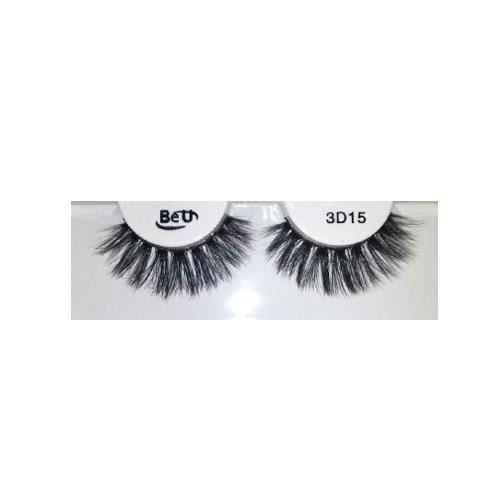 BE U | 3D Faux Mink Eyelashes 3D15 - Hair to beauty