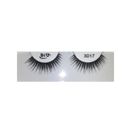 BE U | 3D Faux Mink Eyelashes 3D17 - Hair to beauty