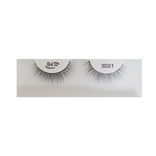 BE U | 3D Faux Mink Eyelashes 3D21 - Hair to beauty