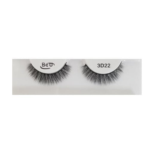 BE U | 3D Faux Mink Eyelashes 3D22 - Hair to beauty