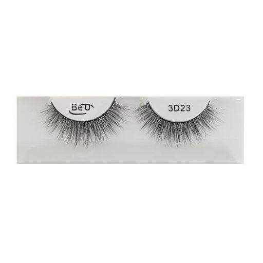 BE U | 3D Faux Mink Eyelashes 3D23 - Hair to beauty