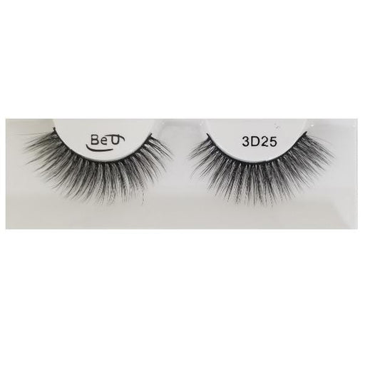 BE U | 3D Faux Mink Eyelashes 3D25 - Hair to beauty