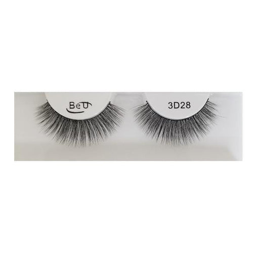 BE U | 3D Faux Mink Eyelashes 3D28 - Hair to beauty