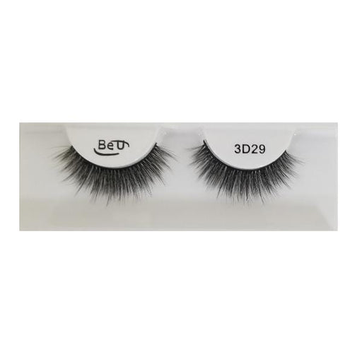 BE U | 3D Faux Mink Eyelashes 3D29 - Hair to beauty