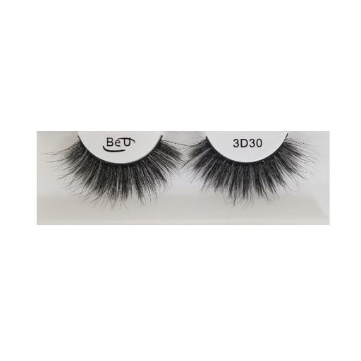 BE U | 3D Faux Mink Eyelashes 3D30 - Hair to beauty