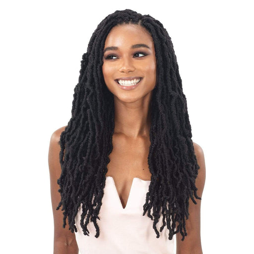 "3X NIKKI LOC 18"" - Freetress Synthetic Braid - Hair to Beauty 