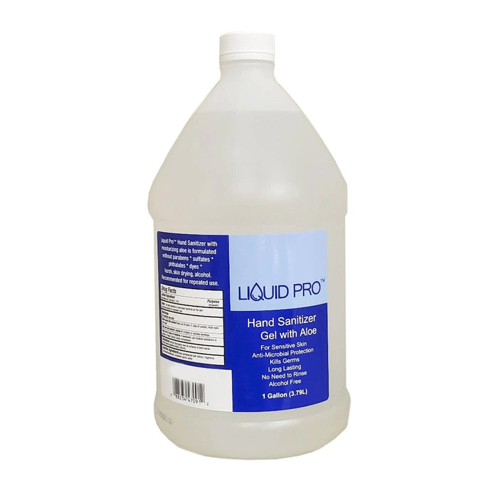 LIQUID PRO | Hand Sanitizer Gel with Aloe 1 Gallon (3.79L) - Hair to Beauty