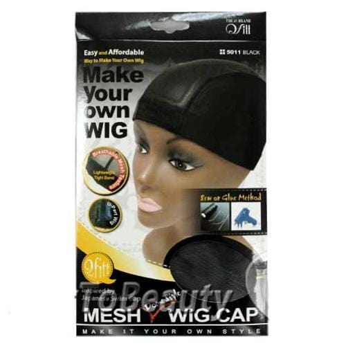 QFITT | Make Your Own Wig Stretch Mesh Dome Style Wig Cap 5011 - Hair to Beauty