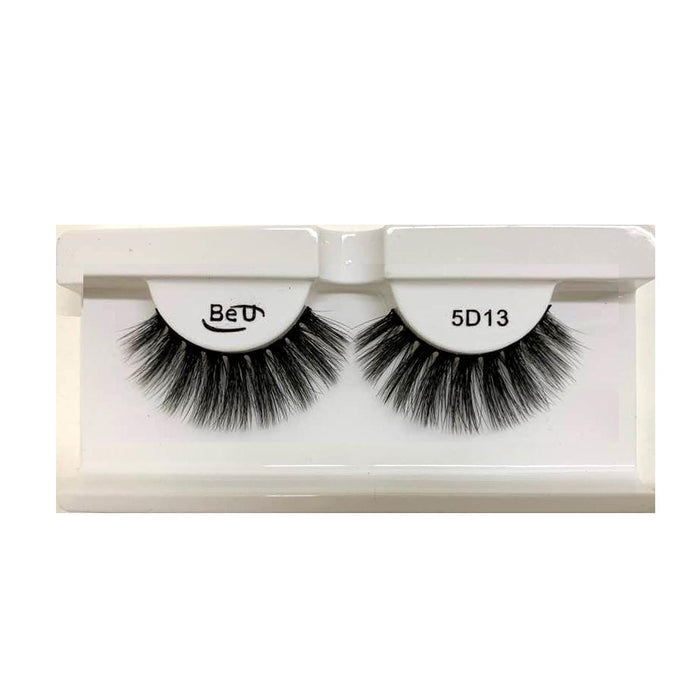 BE U | 5D Faux Mink Eyelashes 5D13 - Hair to beauty