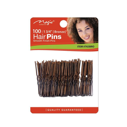 "MAGIC | Hair Pin Bronze With T 1 3/4"" - Hair To Beauty"