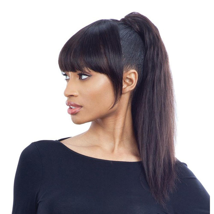 7A+ CLASSIC CHINA BANG NATURAL | Unprocessed Human Hair Bang - Hair to Beauty | Color Shown: NATURAL