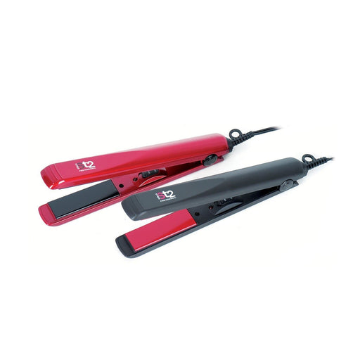 "STELLA | Ceramic Flat Iron Red 1 1/8"" - Hair to beauty"