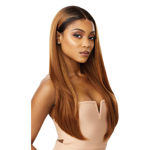 AALIYAH | Melted Hairline Lace Front Wig - Hair to Beauty | Color Shown: DRFF4/GOLDEN HONEY