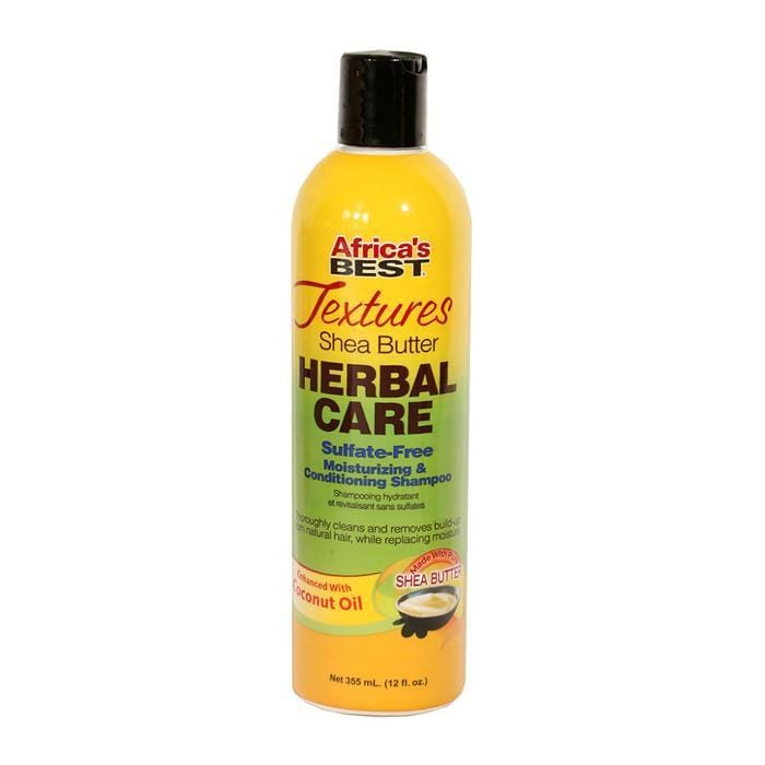 AFRICA'S BEST | Textures Shea Butter Herbal Care Shampoo 12oz.