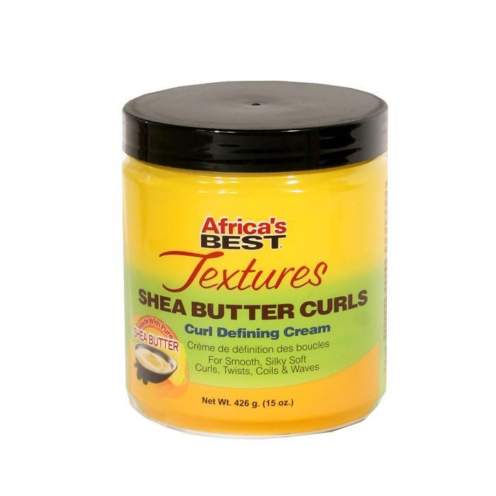 AFRICA'S BEST |  TEXTURES CURL DEFINING CREAM 15OZ SHEA BUTTER CURLS - Hair to Beauty