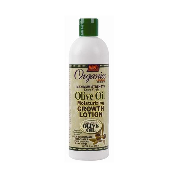 AFRICA'S BEST | Organic Olive Oil Growth Lotion 12oz.
