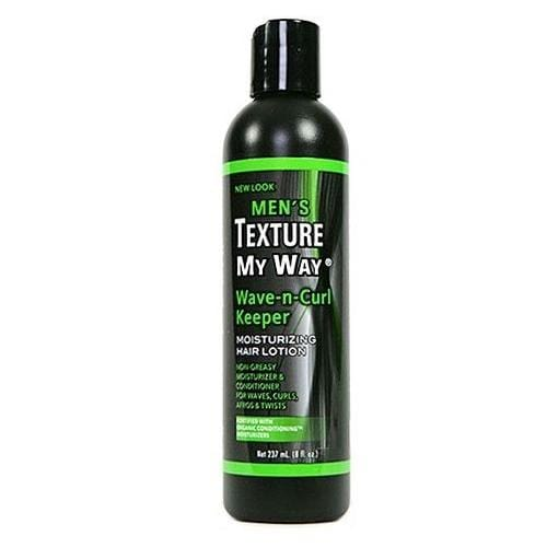 AFRICA'S BEST | Men's Texture My Way Wave-n-Curl Keeper Lotion 8oz - Hair to Beauty
