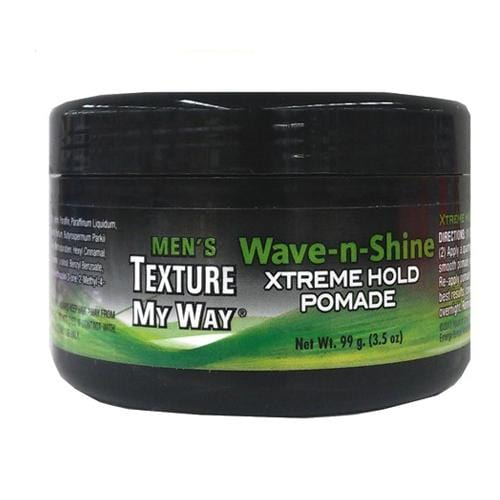 AFRICA'S BEST | Men's Texture My Way Wave & Shine Xtreme Hold Pomade 3.5oz - Hair to Beauty