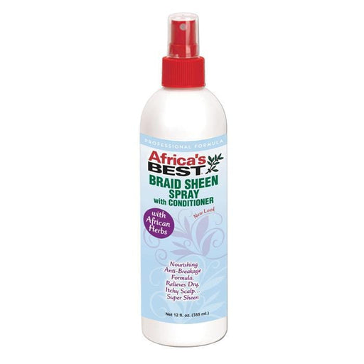 AFRICA'S BEST |  BRAID SHEEN SPRAY 12OZ - Hair to Beauty