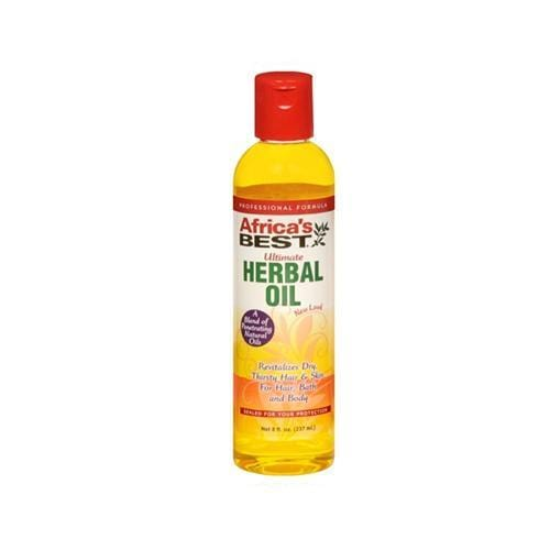 AFRICA'S BEST |  HERBAL OIL 8OZ ULTIMATE - Hair to Beauty