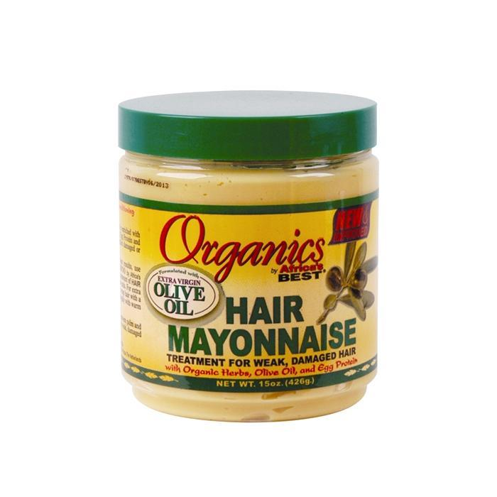 AFRICA'S BEST | Organics Hair Mayonnaise With Olive Oil 15oz.