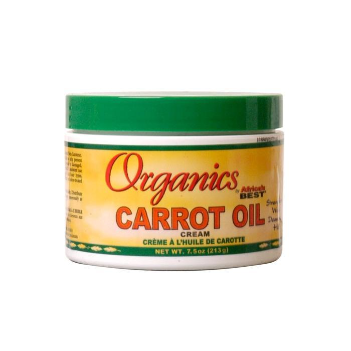 AFRICA'S BEST |  CARROT OIL CREAM 7.5OZ - Hair to Beauty