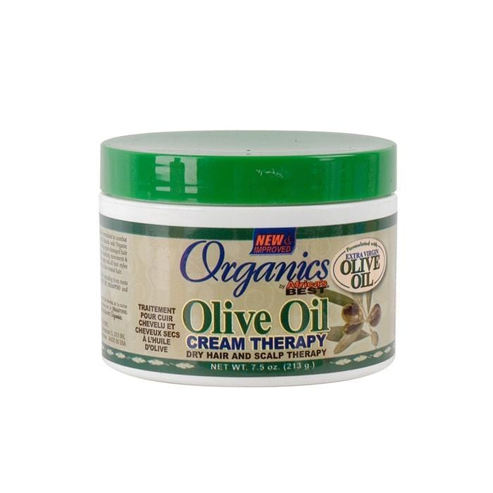 AFRICA'S BEST |  CREAM THERAPY 7.5OZ OLIVE OIL - Hair to Beauty