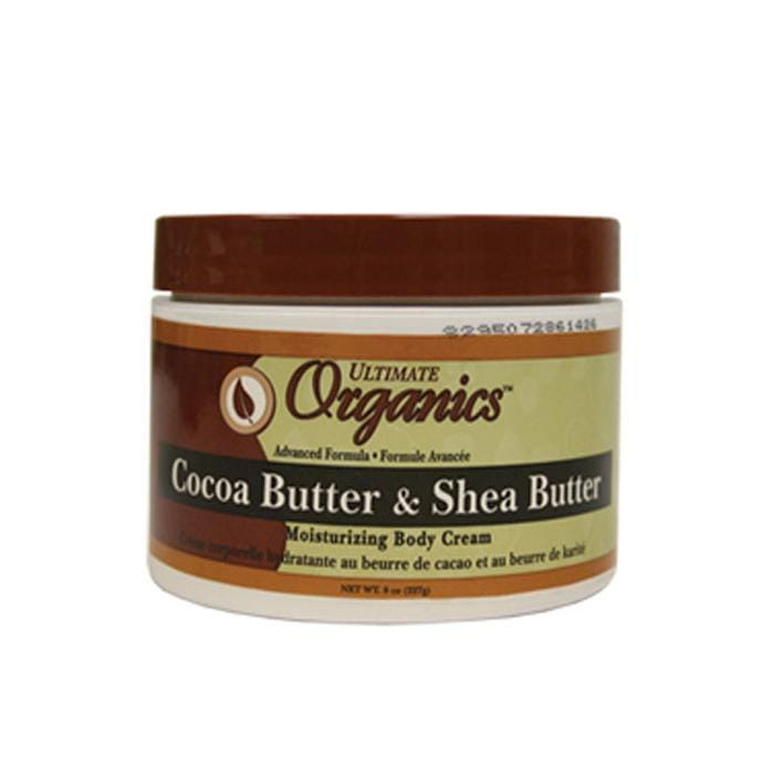AFRICA'S BEST | Cocoa & Shea Butter Body Cream 8oz.