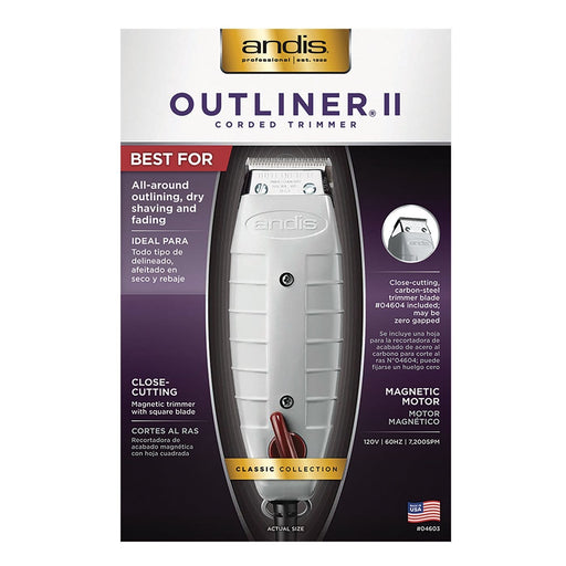 ANDIS | Trimmer Outliner II - Hair to beauty