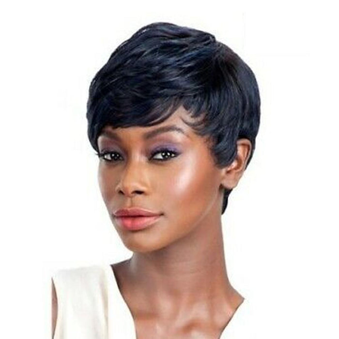 ADARA | Ego Remy Human Hair Wig - Hair to Beauty | Color Shown: OTBLBK