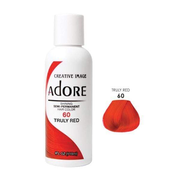 ADORE | #060 TRULY RED 4oz - Hair to Beauty