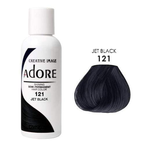 ADORE | #121 JET BLACK 4oz- Hair to Beauty