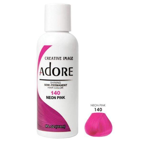 ADORE | #140 NEON PINK 4oz - Hair to Beauty