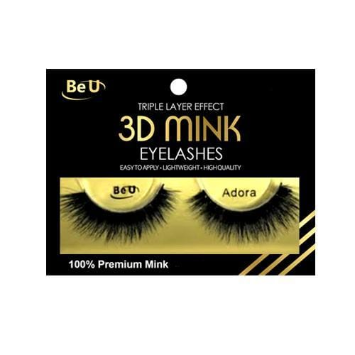 BE U | 3D Mink Eyelashes ADORA.