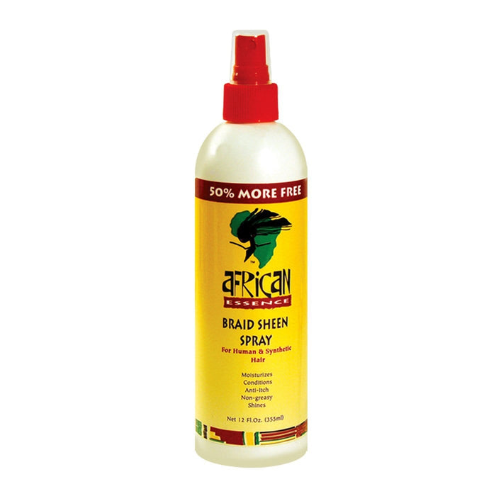 AFRICAN ESSECE | BRAID SHEEN SPRAY 12OZ - Hair to Beauty