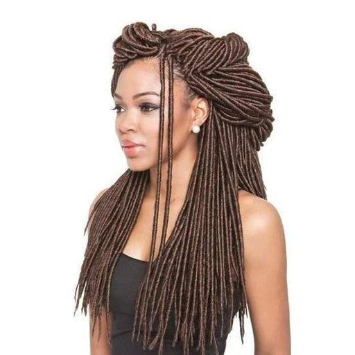 AFRI SILK DREADS | Synthetic Braid - Hair to Beauty | Color Shown: M1B/30