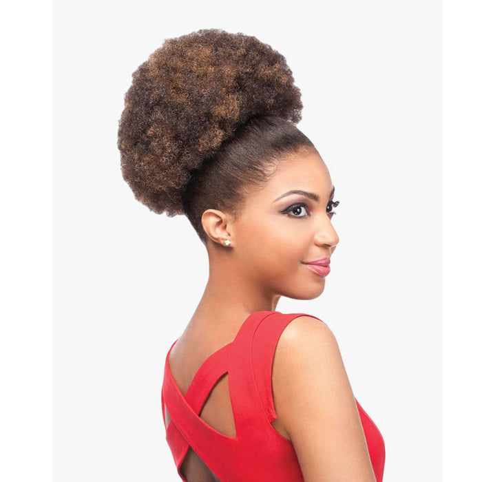 AFRO KINKY | Instant Pony Synthetic Ponytail - Hair to Beauty | Color Shown: F4/30