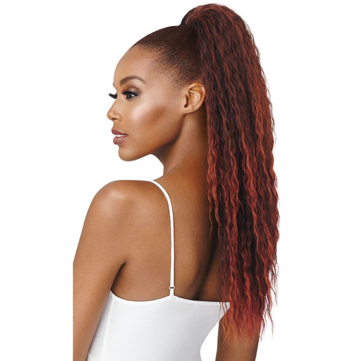 AISSATA | Outre Synthetic Quick Pony - Hair to Beauty | Color Shown :  2T1B/350/99J