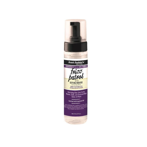 AUNT JACKIE'S | Frizz Patrol Setting Mousse 8.25oz - Hair to Beauty