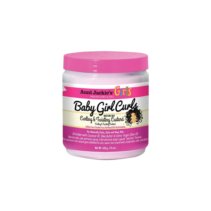 AUNT JACKIE'S GIRLS | Baby Girl Curls Custard 15oz.
