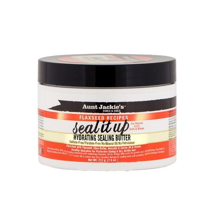 AUNT JACKIE'S | FLAXSEED SEALING BUTTER (8OZ) [HYDRATING] - Hair to Beauty