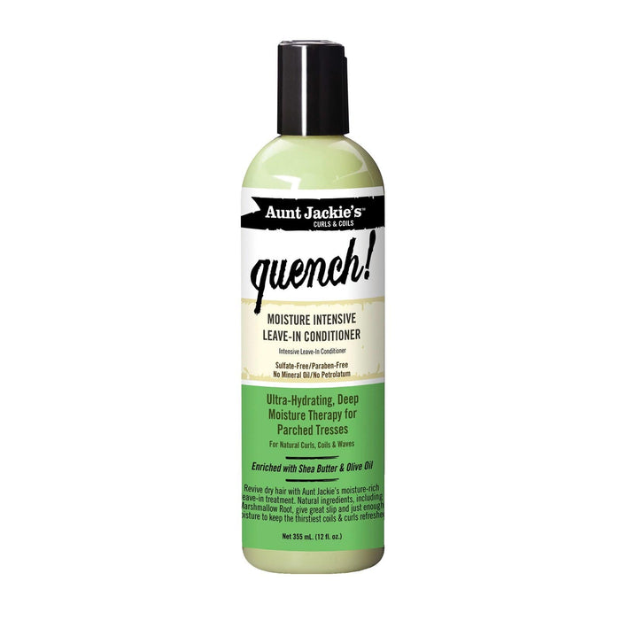 AUNT JACKIE'S | LEAVE-IN CONDITIONER (12OZ) [QUENCH] - Hair to Beauty