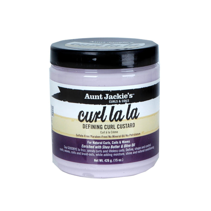 AUNT JACKIE'S | CURL CUSTARD (15OZ) [CURL LA LA] - Hair to Beauty