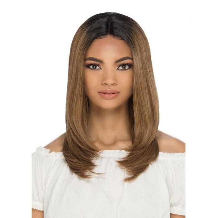 AL-ELDORA | Synthetic Invisible Part Lace Front Wig.