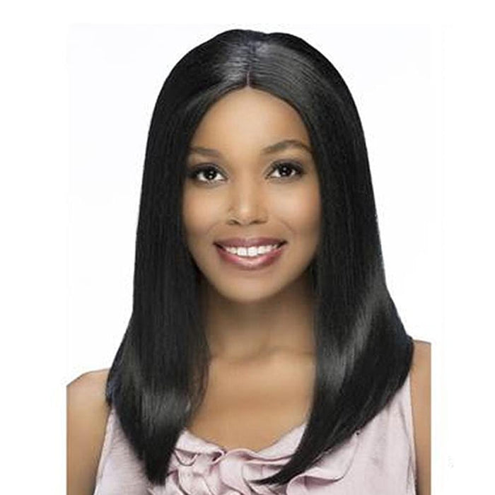 AL-YUMI | Synthetic Lace Front Wig - Hair to Beauty | Color Shown: 1B