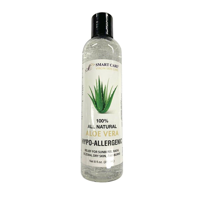 SMART CARE | 100% All Natural Aloe Vera Hypo-Allergenic 8oz - Hair to Beauty
