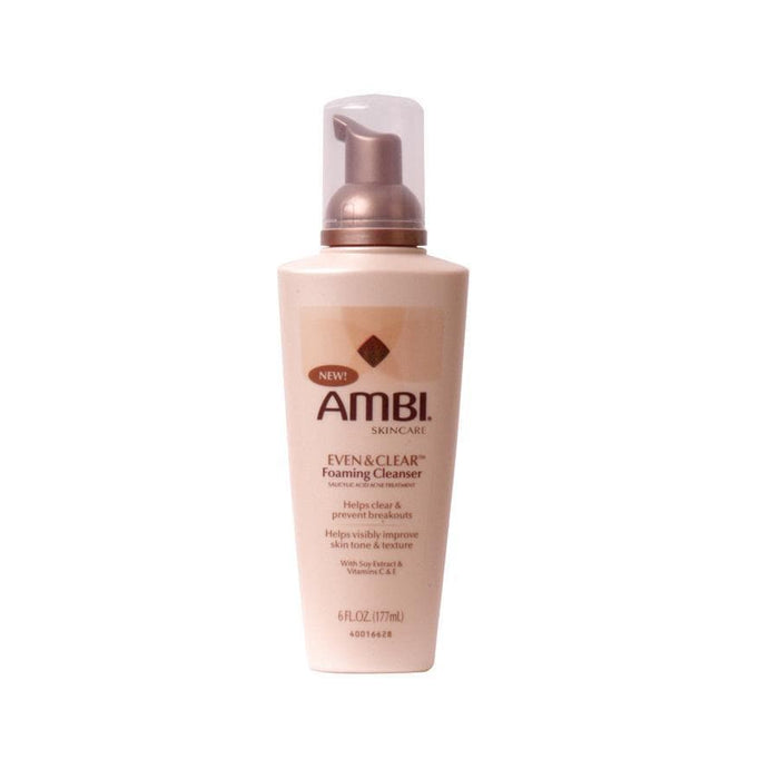 AMBI | FOAM CLEANSER (6OZ) [EVEN & CLEAR] - Hair to Beauty