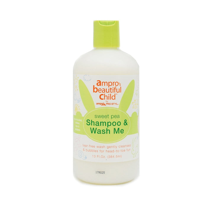 AMPRO | BEAUTIFUL CHILD SWEET PEA SHAMPOO & BODY WASH (13OZ) - Hair to Beauty